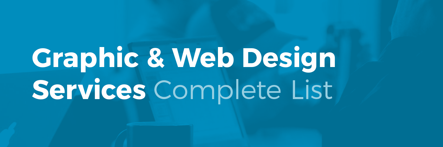 List Graphic Web Design Services