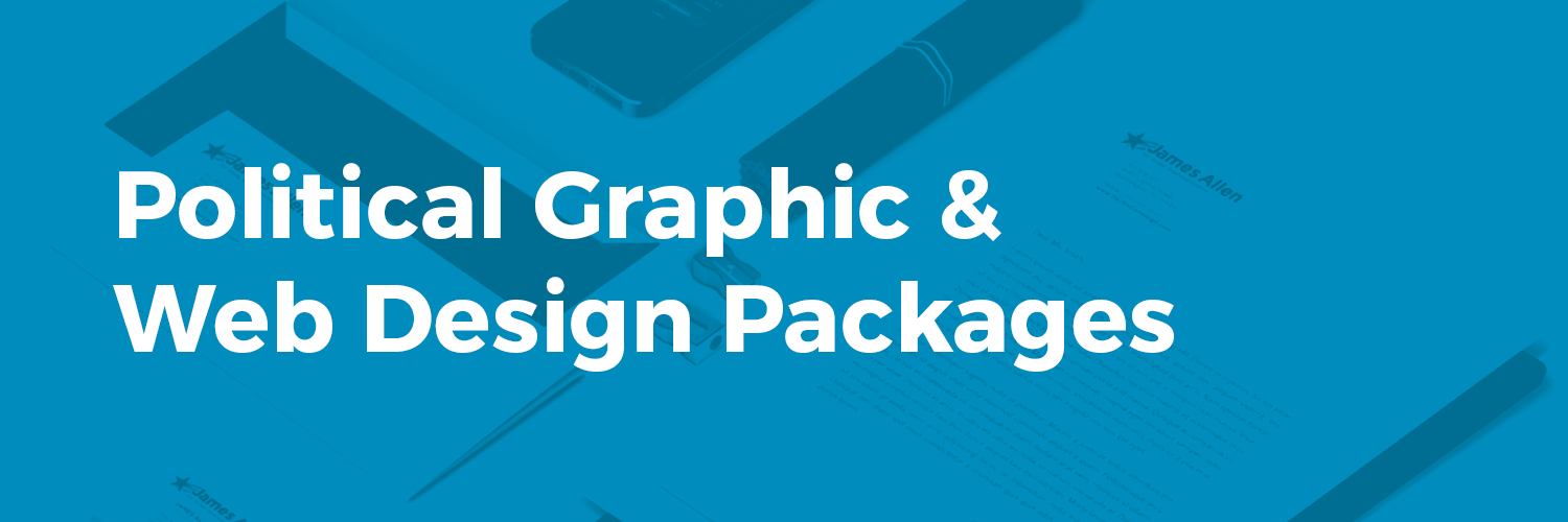 Political Web Graphic Design Service Package